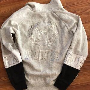 New w/o tag Victoria secret pink bling sweatshirt